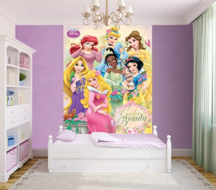 Photo wallpaper Disney cartoons - Princess
